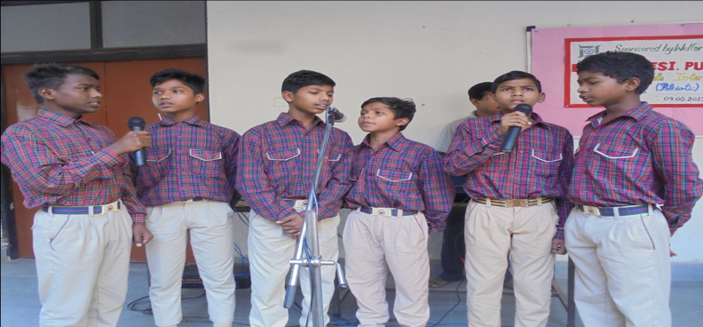 GROUP SONG COMPETITION 04.05.2019
